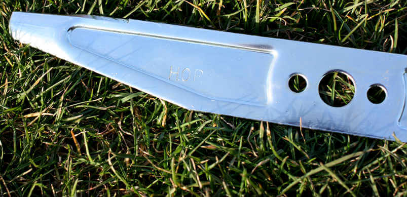 Lawnmower Blade On Grass