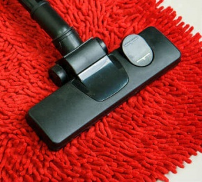 Red Carpet With Vacuum