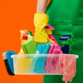 Cleaning Equipment Held In Hand
