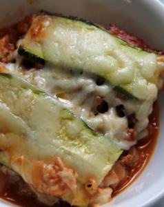 Zucchini Lasagna Cheese Tomato
