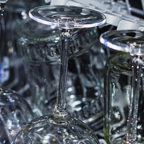 Sparkling Clean Glasses In Dishwasher