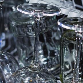 Sparkling Clean Glasses In Dishwasher
