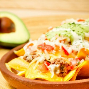 Nachos Chilli And Avocado