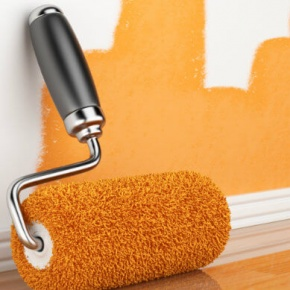 Paint Roller And Paint