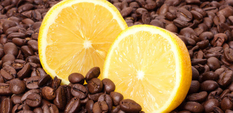 Coffee Bean And Lemon