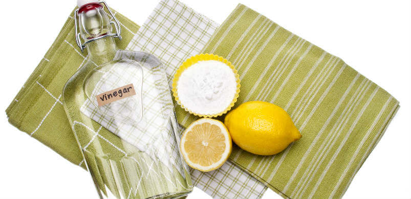 Cleaning With Lemon And Vinegar