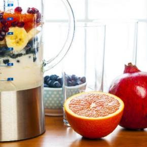 Blender With Fresh Fruit