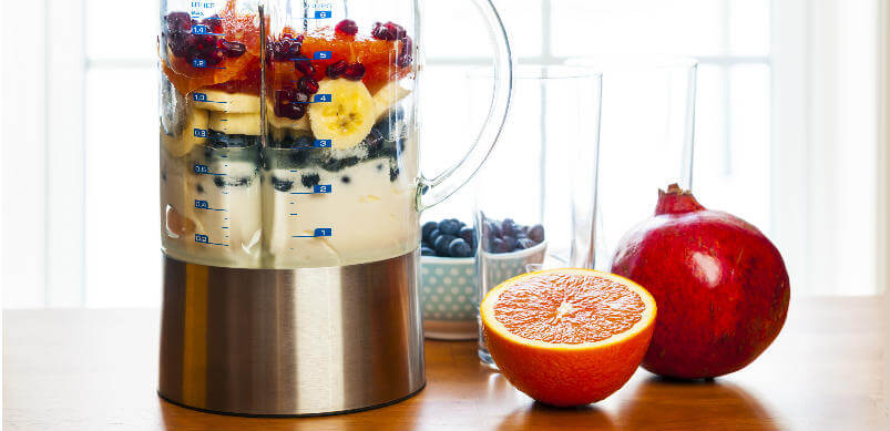 Blender With Fresh Fruit