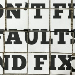 Self-Improvement: Fixing Faulty Household Appliances