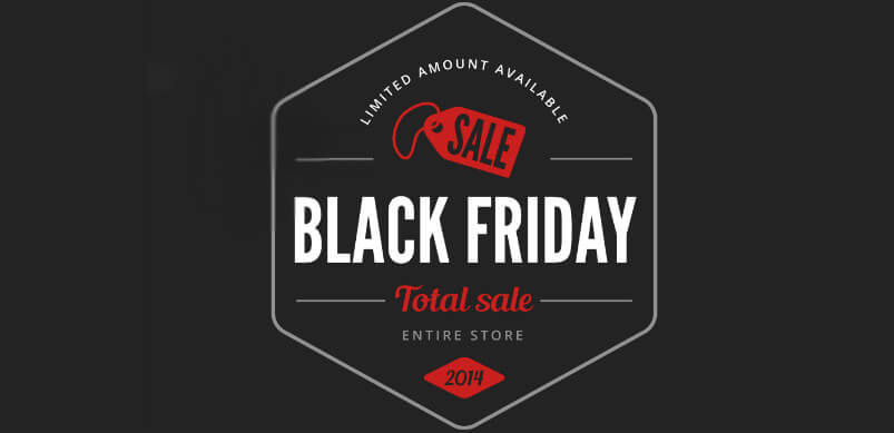 Black Friday Lable