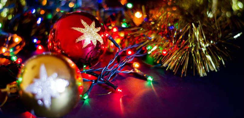 Christmas Lights and Balls