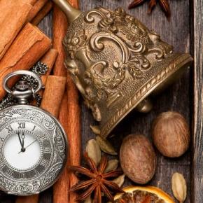 Lemon Cinnamon And Clock