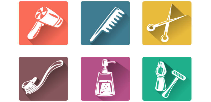 Personal Care Icons