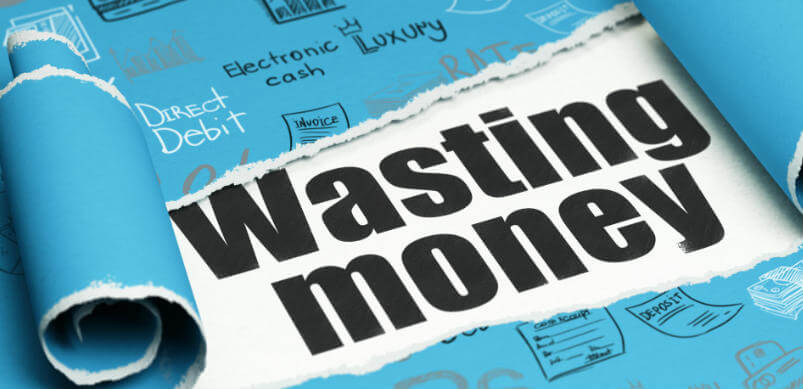 Wasting Money Written