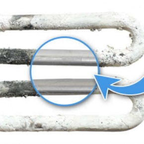 Unhealthy Appliance Element With Limescale