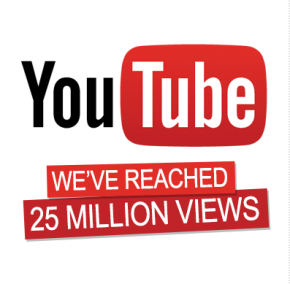 25 Million YouTube Views