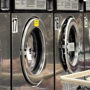 Washing Machine Lined Up