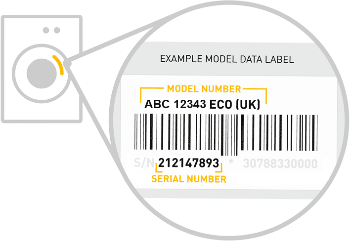 How To Find Appliance Model Number