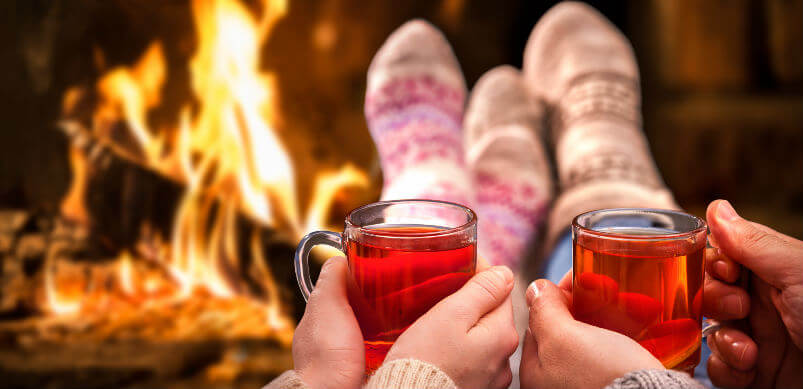 Warming Drinks By The Fire