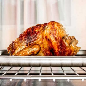 Christmas Turkey In Oven