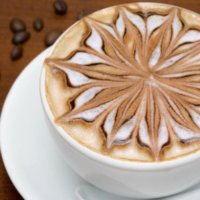 Coffee With A Patterned Froth