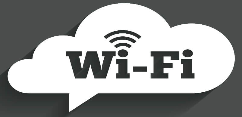 White Cloud Wifi Logo