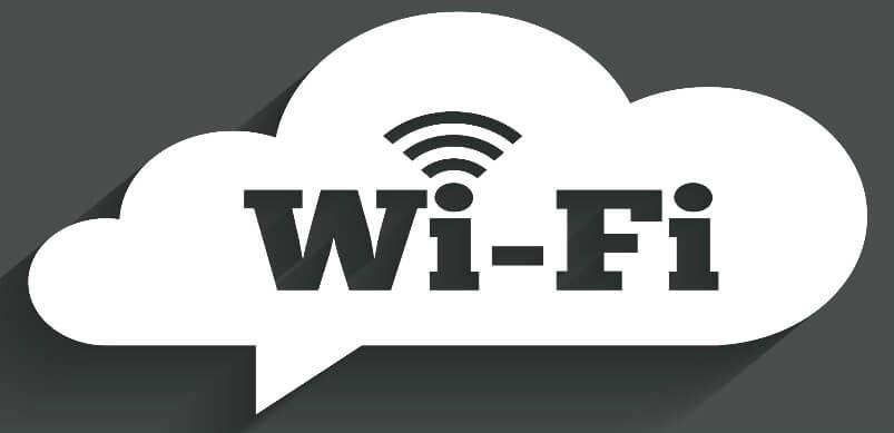 White Cloud Wifi Logo