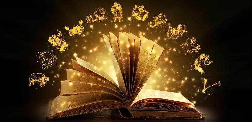 Open Book With Light