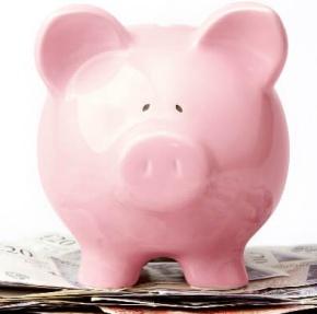 Pig Bank on Money