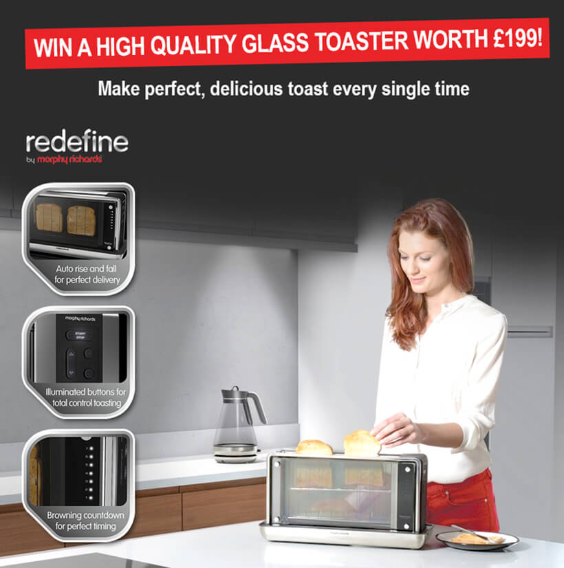 Luxury Glass Toaster Competition