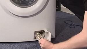 Removing A Washing Machine Filter