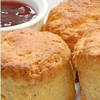 Scones And Strawberry Jam