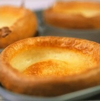 Yorkshire Pudding In Baking Tin