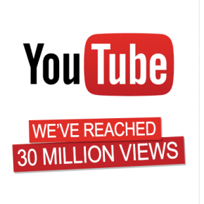 30 Million YouTube Views