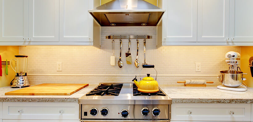 Kitchen Work Surface With Oven