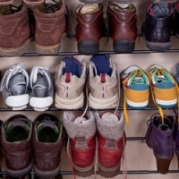 Shoes In Shoe Rack