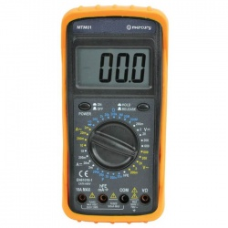 Multimeter With Electronic Display