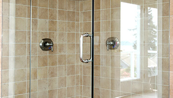 Clean Shiny Shower Glass
