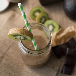 Earl Grey Tea Infused Cocoa Blender Smoothie