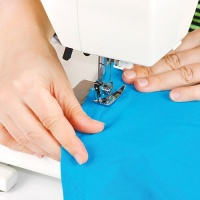 Sewing Seam With A Sewing Machine