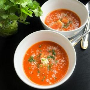 Spanish Gazpacho Cold Tomato Soup