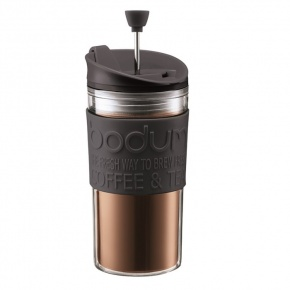 Travel Mug With Coffee Press