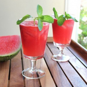 Watermelon And Lime Cocktail