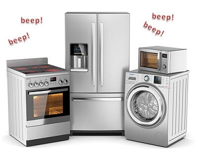 Beeping Appliances From The Kitchen