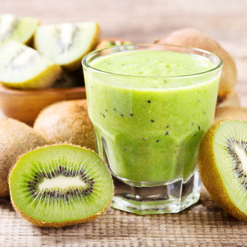 Kiwi And Apple Smoothie