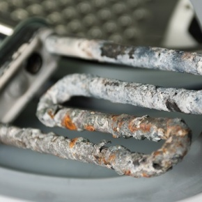 Limescale On Washing Machine Heating Element