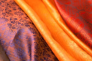Selection Of Silk Scarves