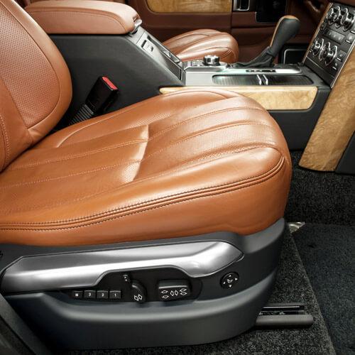 Clean Interior In Car