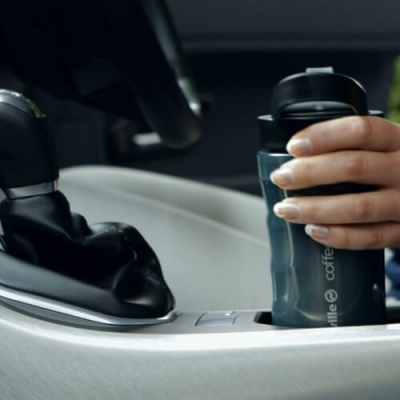 Express Coffee Maker In Car