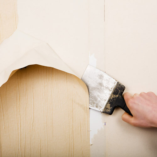 Scraping Wallpaper Off Wall